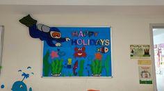 Happy Holidays Yaz tatili panosu