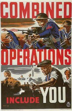 Póster de propaganda Británica - 6