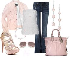 """""""pink"""" by fluffof5 on Polyvore"""