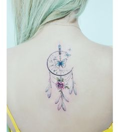 Here are meaningful Tattoos for Women, if you like them, try them out. You will experience a complete change for yourself. Life Tattoos, Cool Tattoos, Tatoos, Free Tattoo Designs, Dream Catcher Tattoo, Meaningful Tattoos For Women, Back Tattoo, Inked Girls, Tattoo Inspiration