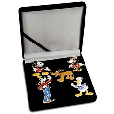 D23 Membership Exclusive Classic Mickey Mouse and Friends Pin Set -- Limited Edition of 250