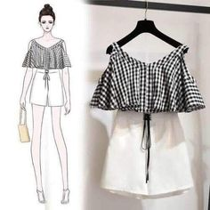 31 Ideas For Fashion Design Sketches Clothing Style - asha goinka Korea Fashion, Asian Fashion, Look Fashion, Girl Fashion, Teen Fashion Outfits, Trendy Outfits, Cute Outfits, Fashion Ideas, Fashion Tips