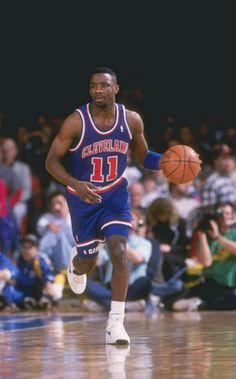Terrell Brandon, who played for the Cleveland Cavaliers from 1991 to 1997.