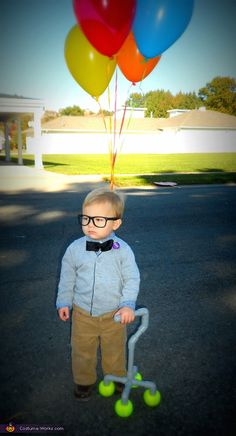 Mr. Fredrickson - DIY Halloween Costume I don't like that movie but that's an adorable costume