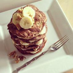 Banana Nut Paleo Pancake recipe