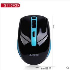 A4TECH G11-590FX 2.4GHZ Wireless Gaming/Office mouse for Desktop/Laptop/Notebook PC Computer Free Shipping