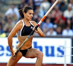 track stars women | Yelena Isinbayeva | Russia