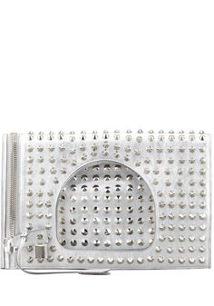 Tom Ford Alix Studded Fold Over Clutch