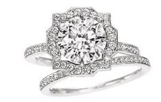 Harry Winston Belle. Seriously so perfect. I'm so obsessed! Probably tied with Cartier Trinity engagement
