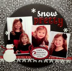 Fan Feature Friday: Say it Ain't Snow Cold Outside -- Snow Pretty by Suzy from Scrap with Suzy