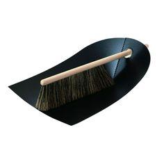 Dustpan and Brush, Black, Normann Copenhagen