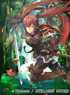 (Fire Emblem Fates Luna) So cute! Is it done by Nintendo? Or Naw?