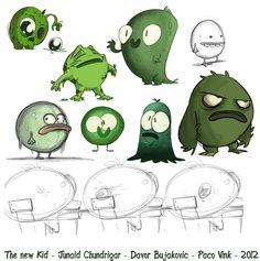 Junaid Chundrigar - Character Design Page