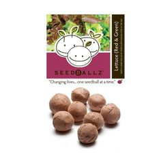 Seedballz Lettuce Mix - 8 Pack - Domestic Good