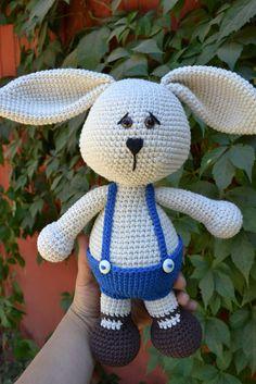 Es un Mundo Amigurumi: Conejo con cara de...