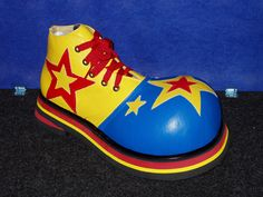 bing imagesof theater shoes | ... Magic Shop - Professional Clown Shoes-Leather (B,Y&R w/stars