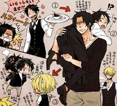 -coffe? -go home luffy -no -ok -sorry guys gotta go -crap One Piece サボ, 0ne Piece, One Piece Images, One Piece Luffy, Single Piece, Anime One, One Piece Anime, Manga Anime, Levi Ackerman