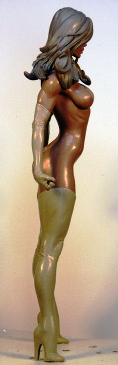 Ms Marvel 3 by ~TKMillerSculpt on deviantART