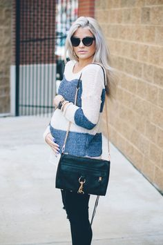 Look grossesse : chic et casual Cute Maternity Outfits, Fall Maternity, Pregnancy Outfits, Maternity Fashion, Cute Outfits, Maternity Style, Pregnancy Wear, Pregnancy Wardrobe, Pregnancy Fashion
