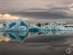 Jokulsarlon Icebergs par Antony Spencer