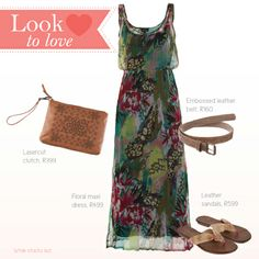 Look to love. Floral Maxi, Baby Wearing, What To Wear, February, Fashion Dresses, Dress Up, Summer Dresses, Spring, Beautiful