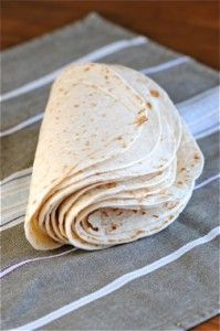 Authentic homemade flour tortilla's~