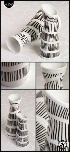 Bescherung 2014 – bemalte Porzellan-Vasen