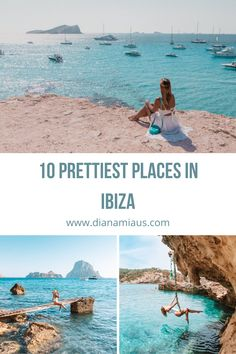 10 Best Instagram Spots in Ibiza | Diana Miaus Ibiza Travel, Spain Travel, Ibiza Trip, Places To Travel, Travel Destinations, Valencia, Ibiza Beach, Photos Voyages, Most Beautiful Beaches