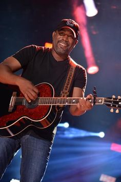 Darius Rucker appears at LP Field during CMA Music Festival in Nashville on June 7, 2014.