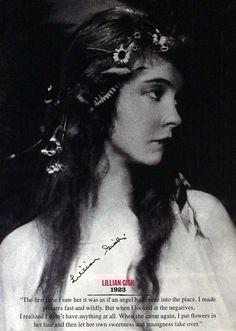 Lovely Lillian Gish.