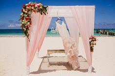 by Katya Nova Beach Destination Wedding Punta Cana Dominican Republic Romantic gazebo pink red roses Punta Cana Wedding, Wedding Resorts, Wedding Beach, Trendy Wedding, Destination Wedding Favors, Destination Wedding Photographer, Wedding Picture Poses, Wedding Pictures, Flower Bouquet Wedding