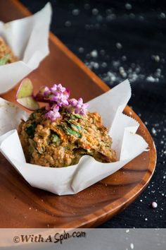 Savory, baby, savory! I have nothing against traditional muffins that double as dessert, but when we need a healthy, fiber rich morning meal, a dinner side, an hors d'oeuvre, I go for a muff...