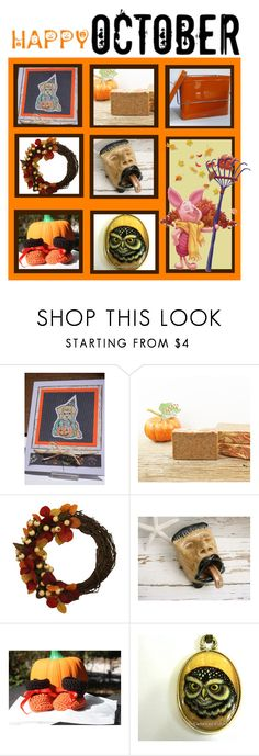 """""""Boo to You!"""" by funnfiber ❤ liked on Polyvore featuring interior, interiors, interior design, home, home decor, interior decorating, Disney and Handle"""