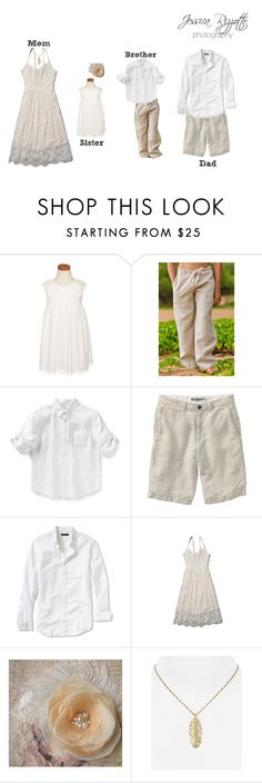 What To Wear - The Naturalist Family Portraits by jessicarizzottophotography on Polyvore featuring mode, Abercrombie & Fitch, Melinda Maria, Banana Republic, Old Navy and Ruby & Bloom