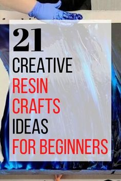 Diy Epoxy, Epoxy Resin Art, Diy Resin Art, Diy Resin Crafts, Diy Arts And Crafts, Diy Resin Casting, How To Make Resin, Diy Resin Projects, Resin Tutorial