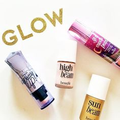 Which one of our highlighters gets you glowing, gorgeous? #benefitbeauty