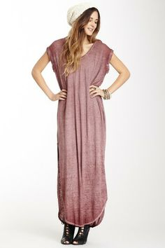 Keep Me T-Shirt Maxi Dress by Free People on @HauteLook