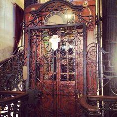 Historical Elevator! Pera Palace Hotel! #istanbul
