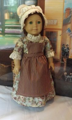 Get the latest from newyorkdolldesigns: Workdress set for American Girl Felicity #ClothingShoes