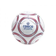 The Cosco Atlanta Football Attractive cosmetics and special Cosflex top cover.  Features  Synthetic Hand Sewn Ball.  Attractive cosmetics and special Cosflex top cover.  Good for all type of surfaces.  Excellent shape retention and high durability  Fitted with latex bladder.