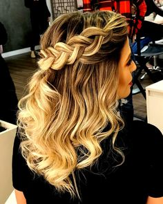 (notitle) The post appeared first on Dress Models. Pretty Hairstyles, Braided Hairstyles, Beauty Planet, How To Make Hair, Hair And Nails, Bridal Hair, Braids, Hair Makeup, Hair Color
