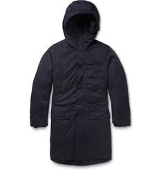 Acne Studios - Montreal Double-Layered Quilted Hooded Parka | MR PORTER