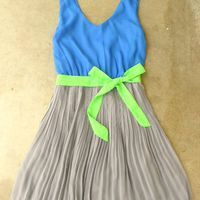 Clearwater Colorblock Dress in Royal [2604] - $24.94 : Vintage Inspired Clothing & Affordable Summer Dresses, deloom | Modern. Vintage. Crafted.