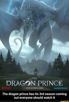Netflix revealed the premiere date for the upcoming third season of its fantasy series The Dragon Prince. Dragon Prince Season 3, Prince Dragon, Dragon Princess, Fantasy Series, Fantasy Art, Legendary Dragons, Dragon Artwork, Triptych, Animes Wallpapers