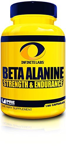 Infinite Labs Beta Alanine  Strength  Endurance  30 Servings 180 Capsules ** Want to know more, visit