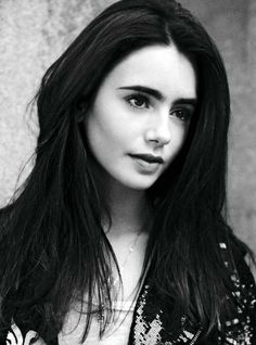 My newest celeb crush, Lily Collins.