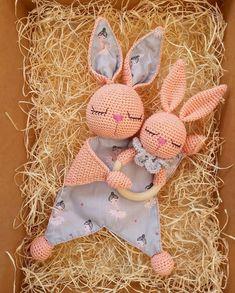 Easy Crochet Patterns, Amigurumi, Baby lovey toys by AVokhminaPatterns Crochet Doll Pattern, Easy Crochet Patterns, Crochet Patterns Amigurumi, Baby Patterns, Crochet Toys, Cotton Crochet, Pattern Baby, Crochet Lovey, New Baby Presents