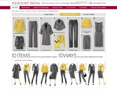 10 items 10 ways originally from Newport News (yellow)