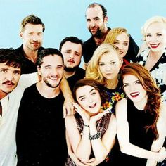 When you notice that these are the GoT cast...