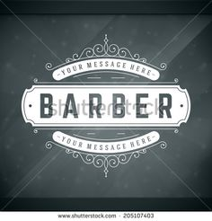 barber shop window signs - Google Search